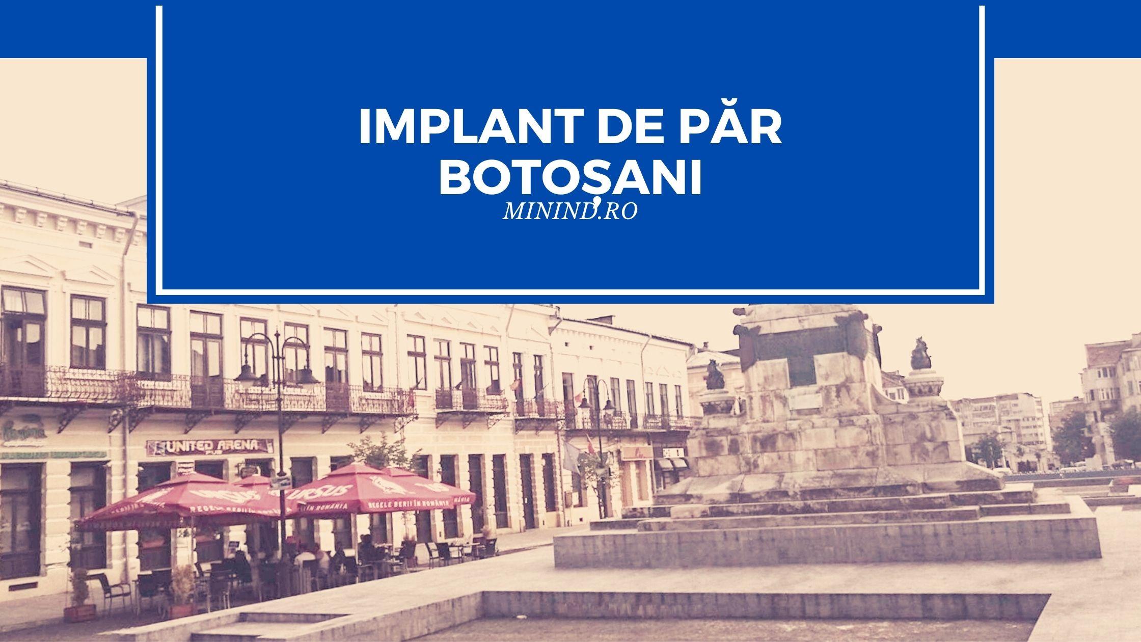 Implant de par Botosani